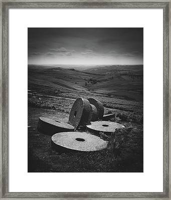 Cirlces Framed Print