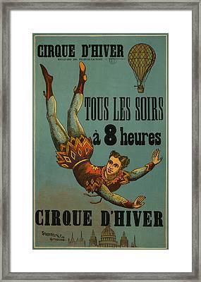 Cirque D'hiver Framed Print