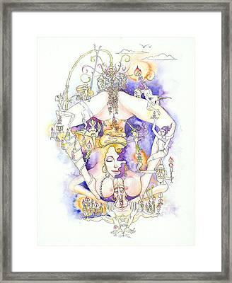 Cirque Du Huntey Framed Print by Igor Khunteyev