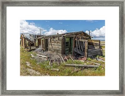 Cisco, Utah, Ghost Town Framed Print
