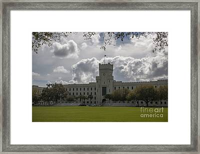 Citadel Military College Framed Print