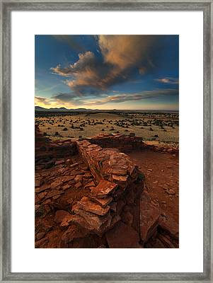 Citadel Walls Framed Print by Mike  Dawson