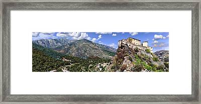 Citadelle De Corte Framed Print