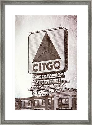 Citgo Sox #2 Framed Print