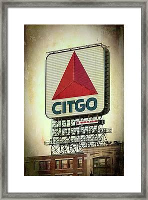 Citgo Sox Framed Print