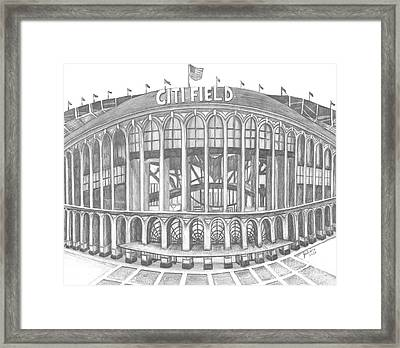 Citi Field Framed Print