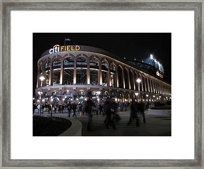 Citi Field Opening Night 2009 Framed Print