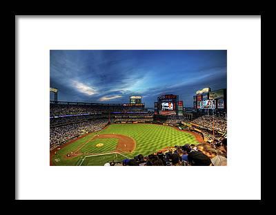 Ny Mets Framed Prints
