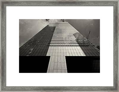 Citicorp Building 2 Framed Print by Robert Ullmann