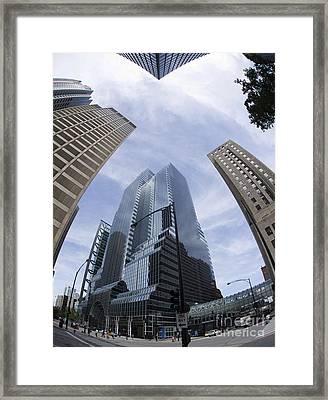 Citicorp Center Chicago Framed Print by David Bearden