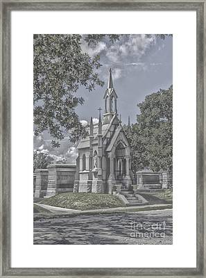 Cities Of The Dead Framed Print by Janice Spivey
