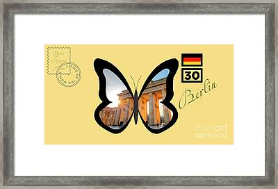 Cities Of The World   Berlin 1 Framed Print