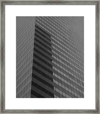 Citigroup Facade I Framed Print by Clarence Holmes