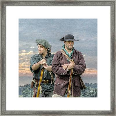 Citizen Soldiers Framed Print by Randy Steele