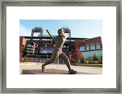 Citizens Bank - Mike Schmidt - Phillies Framed Print