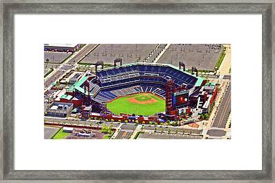 Citizens Bank Park Phillies Framed Print