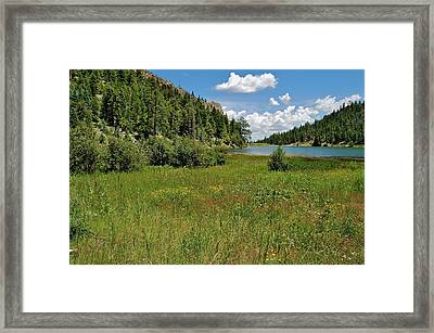 Cito Reservoir Framed Print by Michael Knight