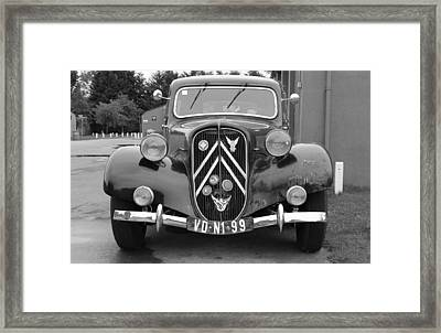 Citreon Framed Print