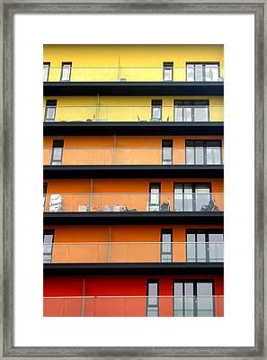 Citric House Framed Print by Jez C Self