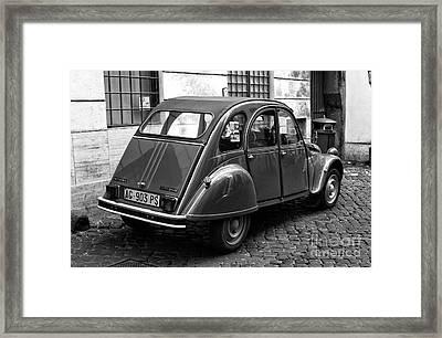 Citroen 2cv Special Framed Print by John Rizzuto