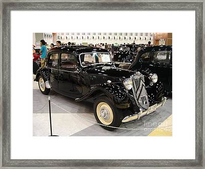 Citroen Framed Print by Mike Holloway