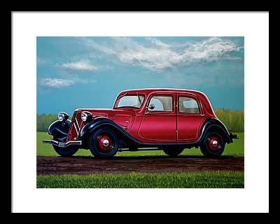 Executive Car Framed Prints