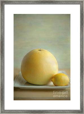 Framed Print featuring the photograph Citrus Brothers by Aiolos Greek Collections
