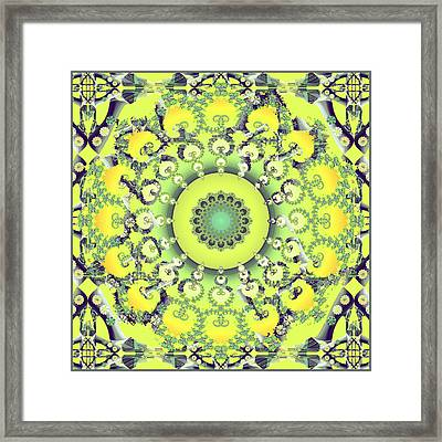 Citrus Shoe Dance Framed Print