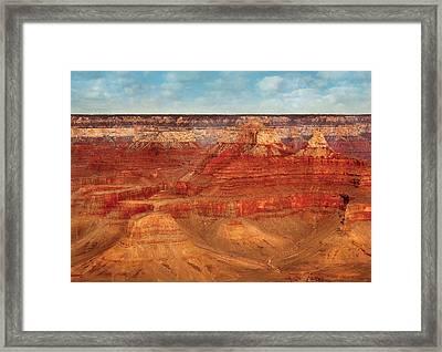 City - Arizona - The Grand Canyon Framed Print by Mike Savad