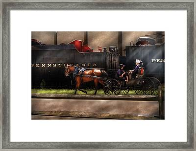 City - Lancaster Pa - You Got To Love Lancaster Framed Print by Mike Savad
