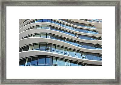 City 101 Framed Print