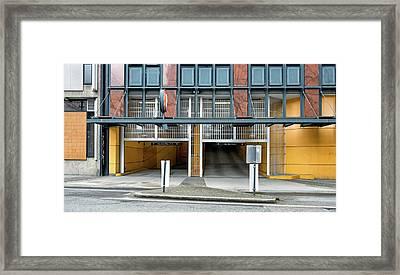 City 1174 Framed Print