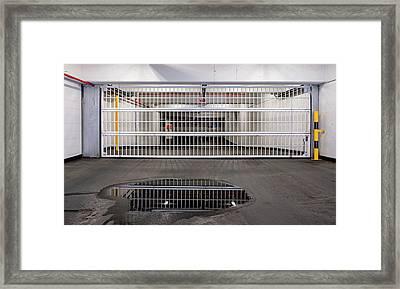 City 1211 Framed Print