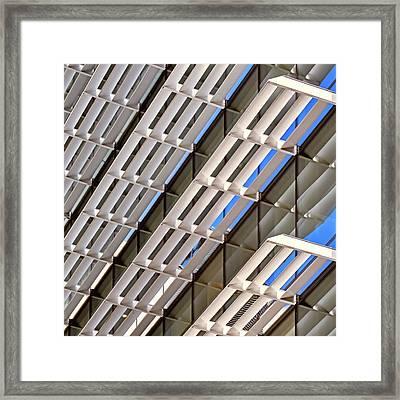 City 1438 Framed Print