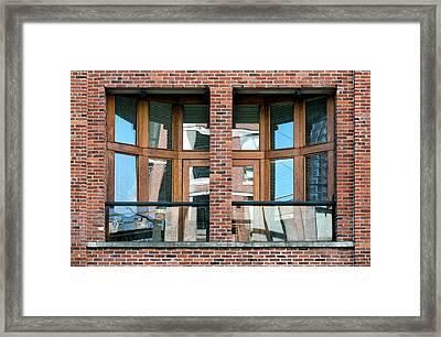City 1492 Framed Print