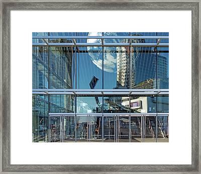 City 305 Framed Print