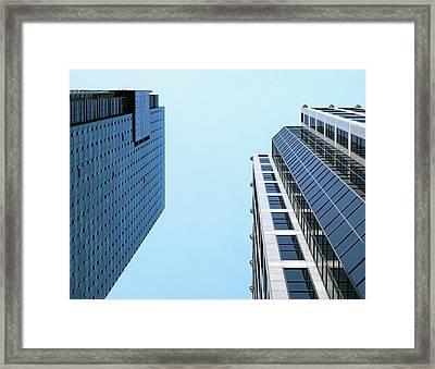City 442 Framed Print