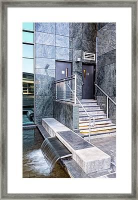 City 96 Framed Print