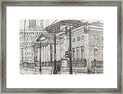 City Art Gallery Framed Print by Vincent Alexander Booth