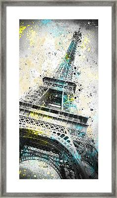 City-art Paris Eiffel Tower Iv Framed Print