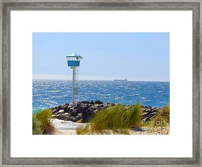 City Beach, Western Australia Framed Print