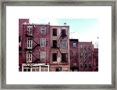 City Block Philly Framed Print