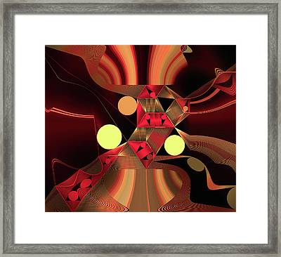 City Brights Framed Print by Susan Maxwell Schmidt