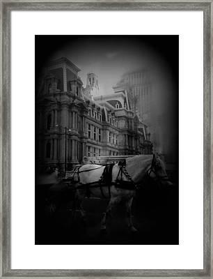 City Buggy'en Framed Print by Brynn Ditsche