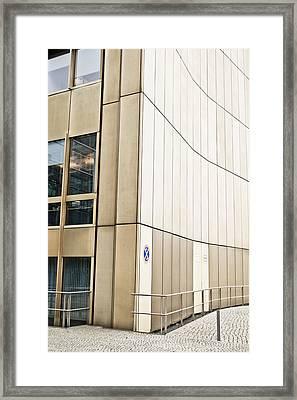 City Building Framed Print