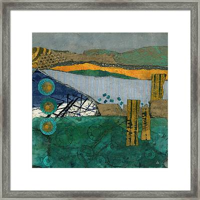 City By The Bay Framed Print by Cheryl Goodberg