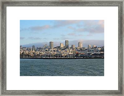 City By The Bay Framed Print by Connor Beekman