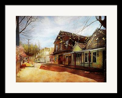 Old West Towns In California Framed Prints