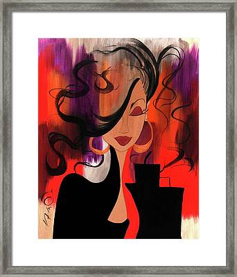 City Chic Framed Print by Simone Fennell
