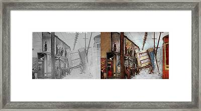 City - Cleveland Oh - Open House 1913 - Side By Side Framed Print